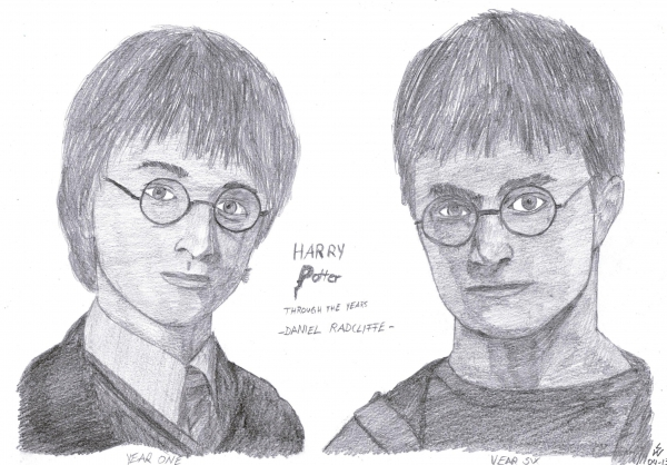 Daniel Radcliffe by monkfan1992